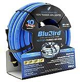 BluBird Lightest, Strongest, Most Flexible Rubber Air Hose (3/8' x 25') - BB3825
