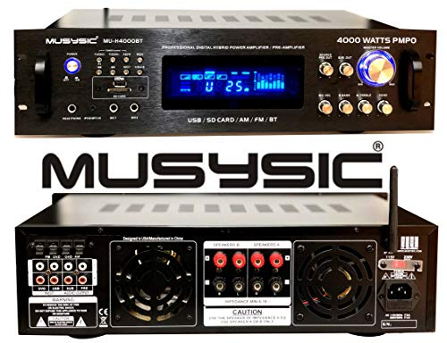 MUSYSIC Professional 4000 Watts Hybrid Power...