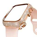Best High End Apple Watch Bands - BaiHui 44mm Bling Case Compatible with Apple Watch Review