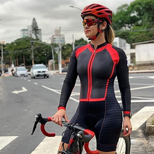 Tuta Da Triathlon Da Donna,Calzamaglia Da Tuta Da Ciclismo A Manica Corta Da Donna (Color : 5, Size : X-Large)