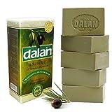 Natural 100% Aceite Puro de Oliva Jabón Dalan Turkish Baño Hecho a Mano Turquía X 10 Barras