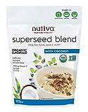 Nutiva Organic Superseed Blend, Coconut, 10 Ounce...