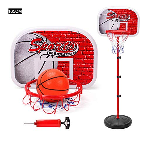 Best Prices! Lightcolor Portable Height Adjustable Basketball Hoop Backboard Basketball Stand,Port...