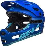 BELL Super 3R MIPS Casco MTB, Unisex, Azul Mate, M