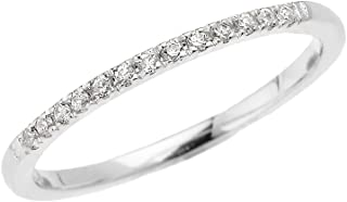 raw diamond white gold ring