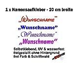 1xNamensaufkleber'Pepe Name Wunschname Aufkleber UV & wasserfest Schriftart wählbar, Namen Sticker , Namensetiketten,Namensaufkleber,+Estrellina-Glücksaufkleber® von myrockshirt®