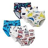 Hey~Yo 6 Paquet Petite Petit Garçon sous-vêtements,Coton d'enfant de Bébé Bambin Culottes de la Série pour Enfants Fit Âge 2-12 (3-4 Ans)
