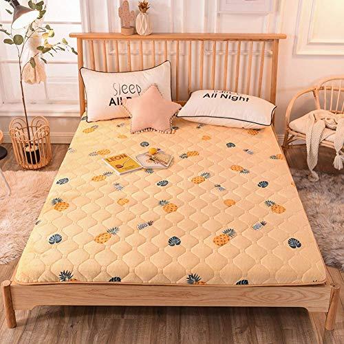 Tatami - Colchón de suelo plegable con acolchado suave y antiescaras para dormir, 120 x 190 cm
