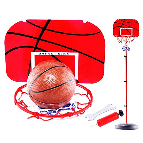 XZYB-lqj Basketball Hoop Teens Basketball Hoop Basketball Stand Portable Outdoor Sports Height Adjustable 135-228cm Basketball System