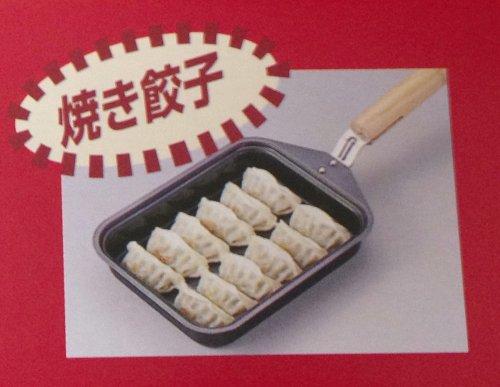 ナイスクッキング鉄製餃子鍋(ナイロンターナー付)N-34