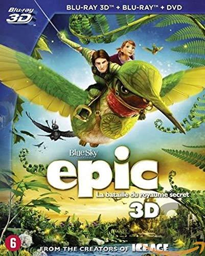 Epic: Verborgenes Königreich (Steelbook) (Blu-ray 3D + Blu-ray)