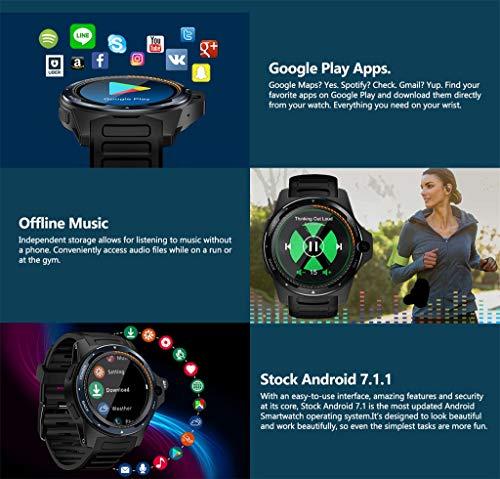 Zeblaze Thor 5 Smartwatch Bluetooth 1,39 pulgadas podómetro ...