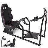 Husuper Asiento para Simulación de Conducción Racing Simulator Simulador de Conduccion PS4 Completo Simulador Cabina Playseat PS4 G25 / G27 / G29 / G920