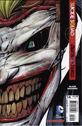 Suicide Squad Vol 3 #14 Die-Cut Mask Cover Return of the Joker Death Of The Family Tie-In