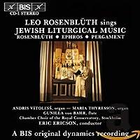 現代ユダヤ教の典礼音楽 (Leo Rosenbuth sings Jewish Liturgical Music) [Import]