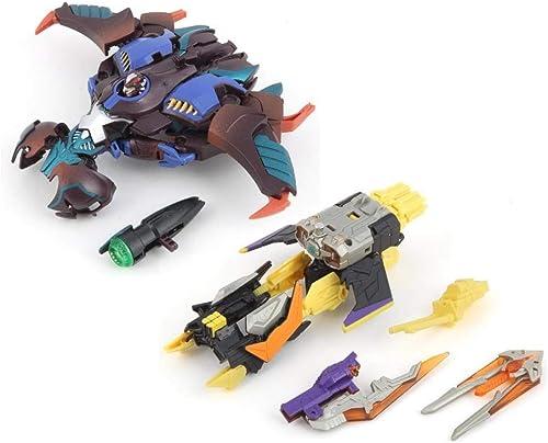 Venta en línea de descuento de fábrica Transformers Transformers Transformers BotCon 2014 Pirate Hunter & Brimstone Souvenir Figure Set  venta directa de fábrica