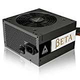 MONTECH BETA 550W 80+ Bronze Certified Power Supply, Japanese Capacitors, 120mm Silent Fan, Continuous PSU