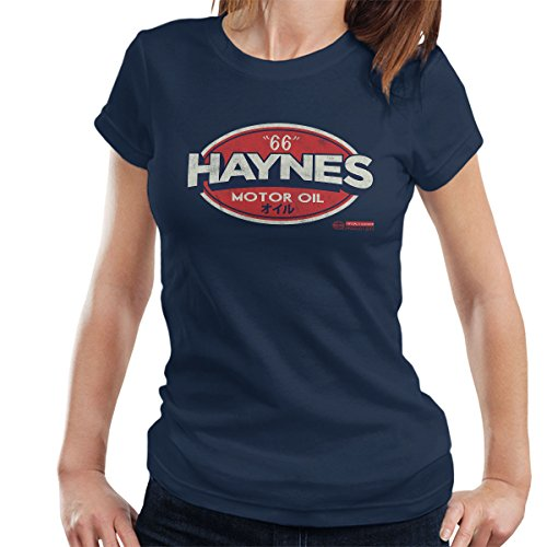 POD66 Haynes 66 Motorolie Golf Logo dames T-shirt
