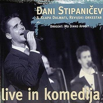 Live in Komedija (feat. Klapa Dalmati)