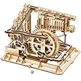 ROBOTIME 3D Wooden Model Kit Marble Run Toy Craft Model Building Set Best