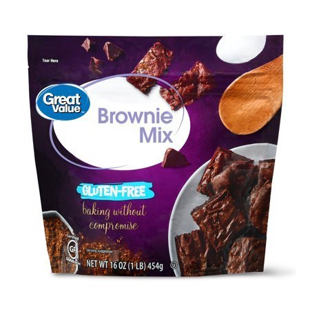 Gluten-Free Brownie Mix, 16 oz specially designed for individuals who are sensitive to wheat and gluten