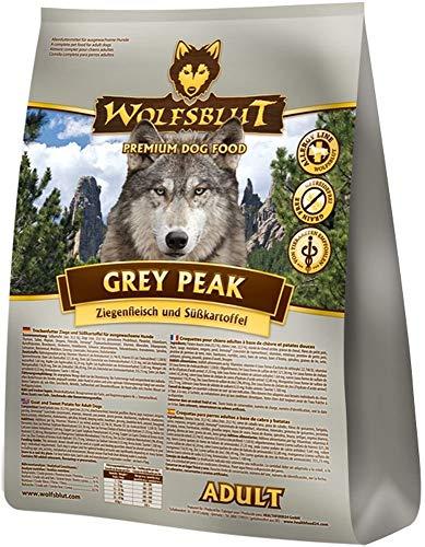 Wolfsblut | Grey Peak | 2 kg | Ziege | Trockenfutter | Hundefutter | Getreidefrei