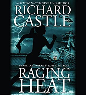 Raging Heat audiobook cover art