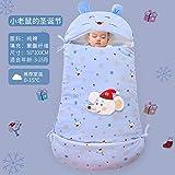 Recién nacido Swaddle Unisex Saco de dormir para bebés Otoño e invierno artefacto antipatadas infantil gusano de seda capullo 0-1 años de edad Lindo manta de envoltura de carro