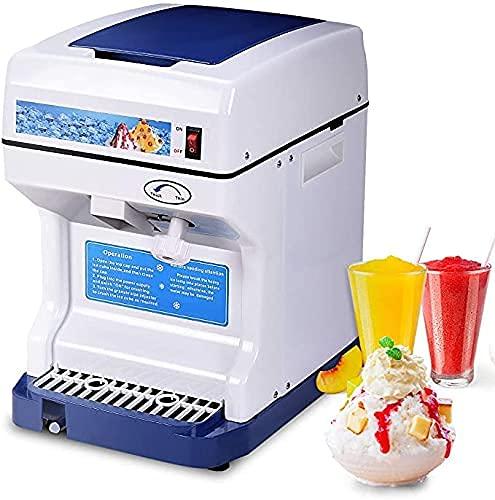 RTOFO Afeitadora de hielo Lectric, máquina de cono de nieve, trituradora de hielo con textura de hielo ajustable, ideal para familia, escuela, iglesia