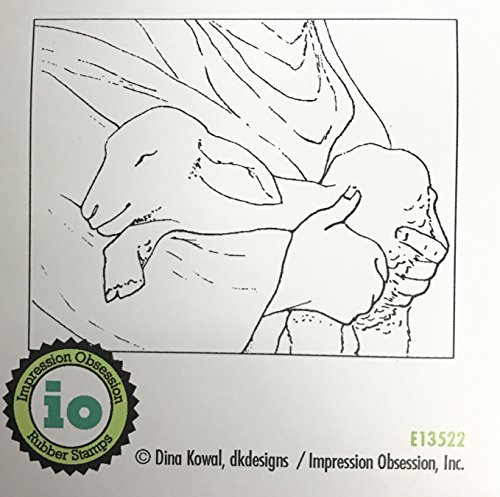 Impression Obsession IO Held Cling Mounted Rubber Stamp E13522
