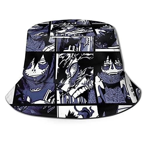 XCNGG Dabi Collage Unisex Sommer Sun Bucket Hat Strandmütze
