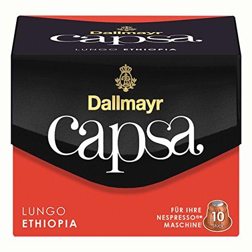 Dallmayr Capsa Ethiopia Kaffeekapseln, 10 Stück/56 g