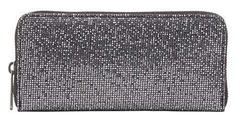 Fritzi aus Preussen Damen Nicole Münzbörse, Silber (Silver), 2.5x9.5x19.5 cm