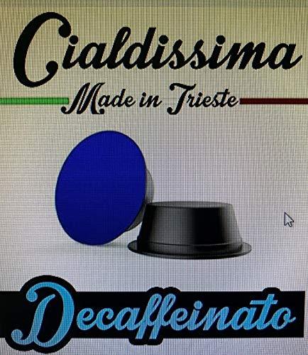 cialdissima 100 Capsule Compatibili Lavazza A Modo Mio Caffè Decaffeinato, 100% Compatibili, Qualità Superiore