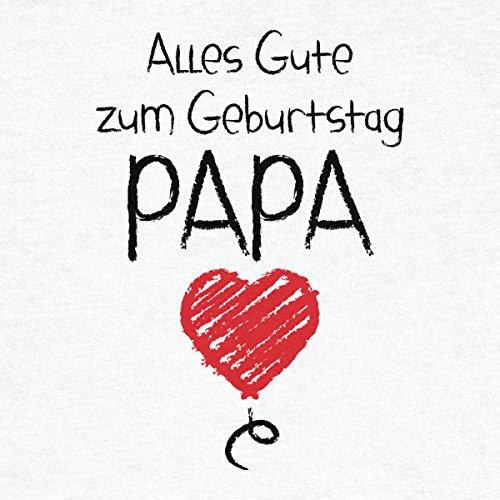 Shirtgeil Alles Gute Zum Geburtstag Papa – Vater Geschenk Baby Body Kurzarm-Body 18M Hellblau - 2