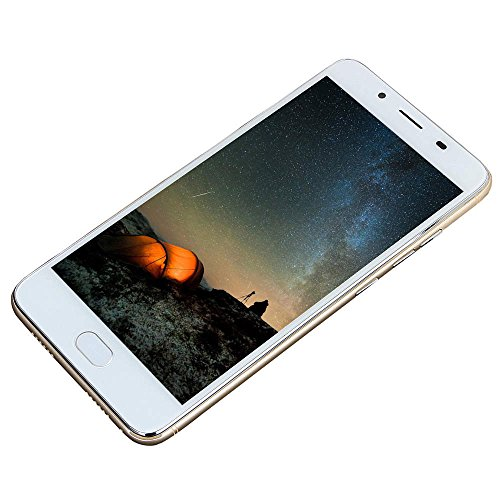2019 New -Unlocked Cell Phone, 55.5' Ultrathin Android5.1 Octa-Core 512MB+4G GSM WiFi Blue-Tooth Dual SIM Dual Camera Smartphone Mobile Phone (Gold)