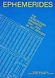 Ephemerides - The Rosicrucian Ephemeris, 1900-2000 Oh TDT