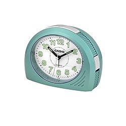Casio TQ358-3D Bell Desktop Alarm Clock Lt. Blue