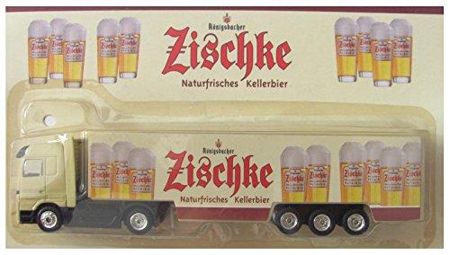 Königsbacher Nr.09a - Zischke Naturfrisches Kellerbier - mit Schriftzug auf Fahrertür - MB Actros - Sattelzug