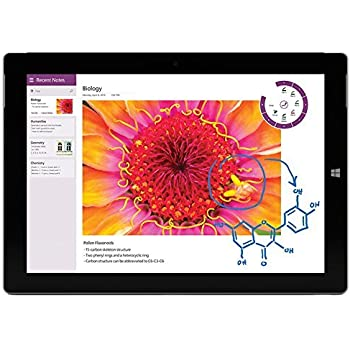 "Microsoft Surface 3 4G LTE AT&T UNLOCKED Tablet 10.8"" 64GB Quad Core Full HD 2.4 GHz Dual Camera Bluetooth 4.0 Windows 10 Home GK6-00013"