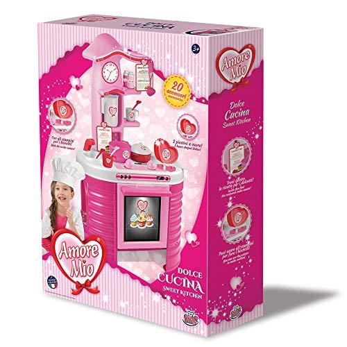Grandi Giochi GG71297, Nuova Cucina Amore Mio, Colore Rosa