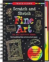 Scratch & Sketch Fine Art (Trace Along)