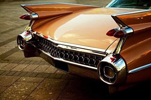 Papermoon Sepia Vintage Car Vlies Fotobehang 500x280cm 10-Banen