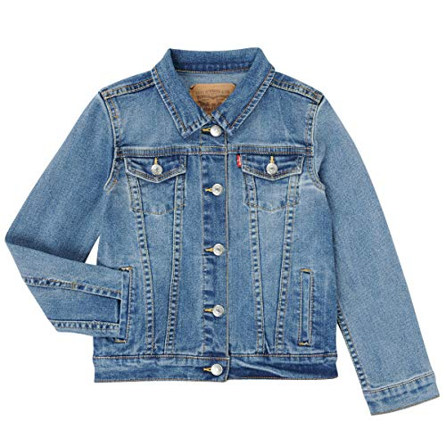 Levi's Kids LVG TRUCKER JACKET 4388 Giacca di jeans Bambina Matter Of Fact 14 anni