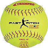 CHAMPRO 12' ASA .47 COR Fastpitch Softball (Dozen)