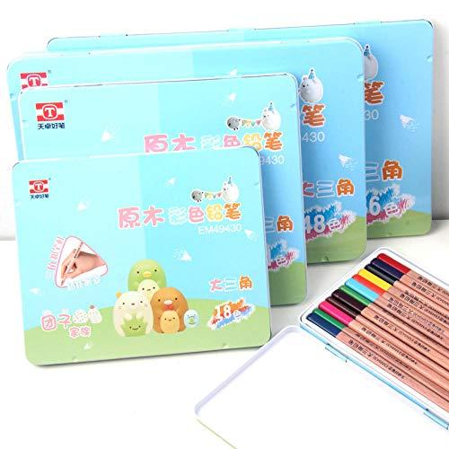Kleur Kleurpotlood Kleur lood schilderij log paal kleurpotlood Kunststof kleurpotloden voor kinderen Colored pencils 36 colors