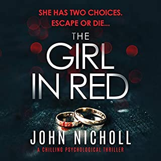 The Girl in Red audiobook cover art