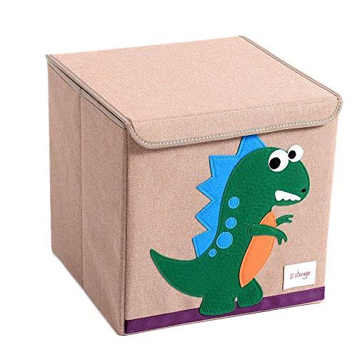 Caja de almacenamiento para niños Cesto De La Ropa Plegable, Habitación Emergente,...