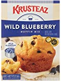 Krusteaz is the #1 boxed muffin mix brand in the US! ChefsBest Award Winning Taste & Judged Unsurpassed in Overall Quality Krusteaz Wild Blueberry Muffins are made with real wild blueberries and have a delicious fluffy texture; No artificial flavors,...