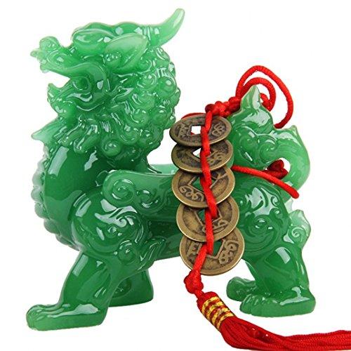 Wenmily Feng Shui Green Pi Yao/Pi Xiu Wealth Porsperity...